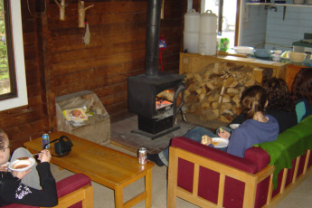HI - Mt. Edith Cavell Wilderness Hostel : HI-Mount Edith Cavell Common Cabin