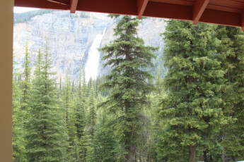 Whiskey Jack Hostel - Yoho National Park : View from HI-Yoho National Park