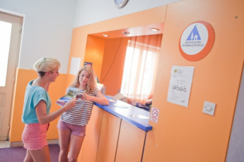 Stari Grad (island of Hvar) - Sunce : Reception Desk in Stari Grad (island of Hvar) - Sunce Hostel, Croatia