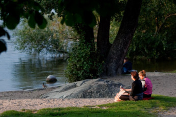 Stockholm - Langholmen : Enjoy the spectacular scenery close to the hostel in Langholmen