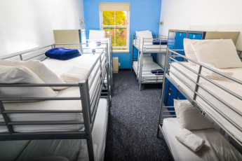 HI - New York City : A 8-bedded dorm at Hostelling International New York