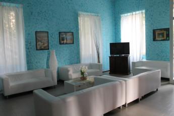Verbania YH - (Lake Maggiore) : Breakfast Tables en Verbania Youth Hostel - (Lago Maggiore), Italia