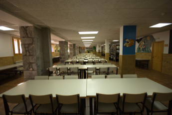 La Casa de Pineta : The huge dining room at the Casa de Pineta