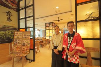 Sabah - Cititel Express Kota Kinabalu : Sabah Cititel Express Kota Kinabalu entrance to hostel restaurant