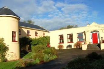 Lisdoonvarna - The Burren Hostel : cartel al Lisdoonvarna - El Burren hostal en Irlanda