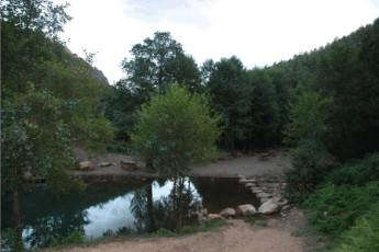 Albergue Villuercas : Zona de Baño natural