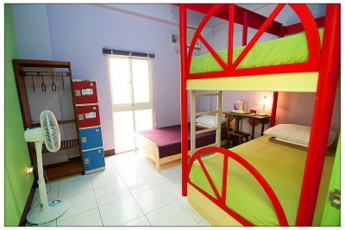 Penghu - Penghu Moncsor Youth Hostel : Bunk bed in dorm room at Penghu - Penghu Moncsor Youth Hostel Taiwan