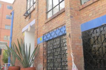 Bogota - Hostel La Niña : Hostal La Niña dormitorio con camas individuales