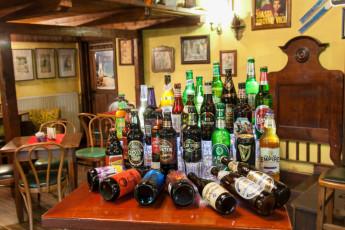 Youth Hostel Pod Skalo : Huge beer selection at Pub