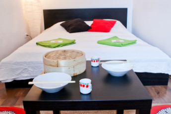 Budapest - Aventura Boutique Hostel : Japan double room with shared bathroom