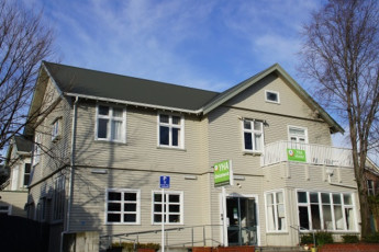 YHA Christchurch : YHA - Christchurch - exterior