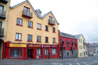Galway - Sleepzone YHA : zona común en Galway - albergue hostal, Irlanda (República de)