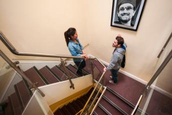 Galway - Sleepzone YHA : Staircase