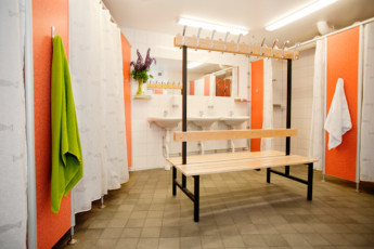 Stockholm - Zinkensdamm : Shower room