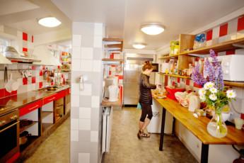 Stockholm - Zinkensdamm : Guest kitchen