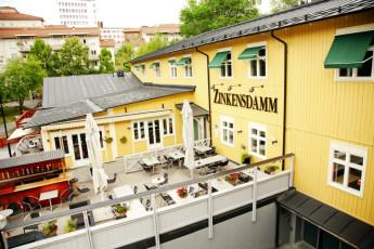 Stockholm - Zinkensdamm : Entrance