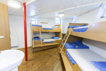 Stockholm - af Chapman : Doppelzimmer in Stockholm - Chapman Boot und Haus