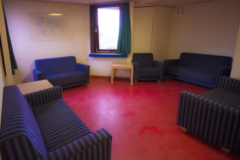 Brussels - Bruegel : Hostel lounge area for guests