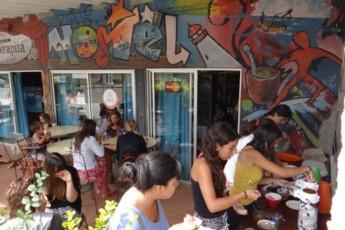 La Paloma - Hostel Ibirapitá : NUESTRO DESAYUNO