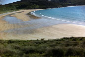 Tra Na Rosann - Co Donegal YHA : Beach near hostel