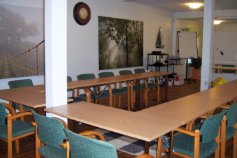 Pori - Hostel River : Meeting room at Hostel River in Pori, Finland. Suomi.