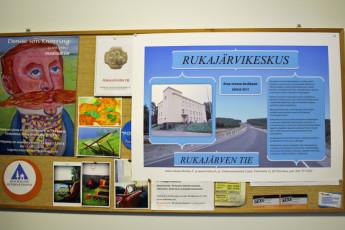 Lieksa - Timitra Hostel : Notice Board at Timitra Hostel in Lieksa, Finland