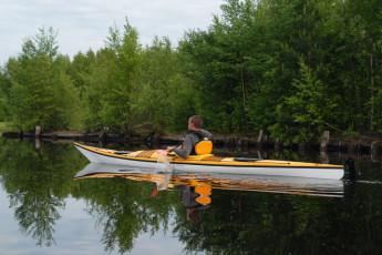 Lieksa - Timitra Hostel : Kayaking, Timitra Hostel in Lieksa, Finland