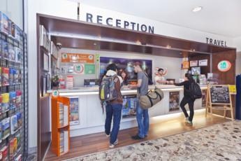 Melbourne - Metro YHA : Melbourne Metro YHA - Reception