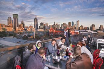 Melbourne - Metro YHA : Melbourne Metro YHA - Rooftop Party