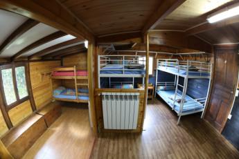 Albergue Paradiso : Dorm room at Albergue Paradiso hostel