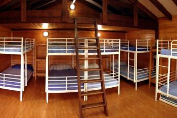 Albergue Paradiso : 12-bed room at Albergue Paradiso hostel