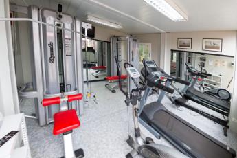 Albergue Paradiso : Gym at Albergue Paradiso hostel