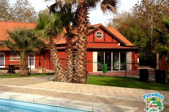 Albergue Paradiso : Building of Albergue Paradiso hostel