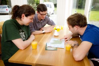 Glendalough International YHA : paysage entourant Glendalough international Youth Hostel Association (République du) Irlande