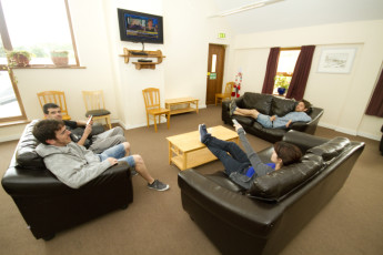 Errigal - Co Donegal YHA : Living room