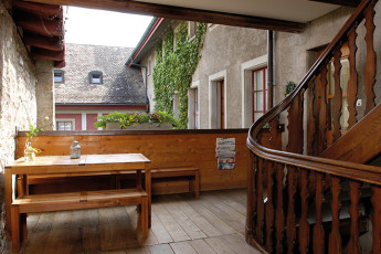 Dachsen am Rheinfall Youth Hostel : Talamone hostel in Switzerland dining