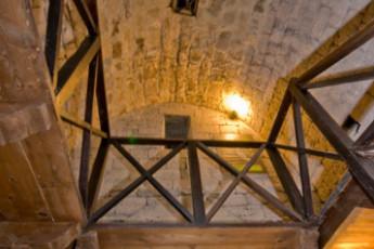 Ascoli Piceno - Ostello de Longobardi : Interno torre
