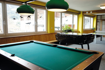 Klosters Youth Hostel : monastery hostel in Switzerland's private room