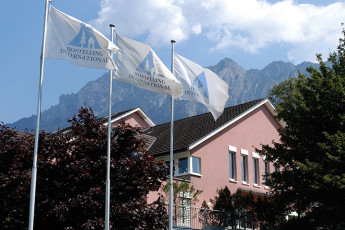 Schaan-Vaduz Youth Hostel : exterior view of Schaan-Vaduz Hostel, Liechtenstein