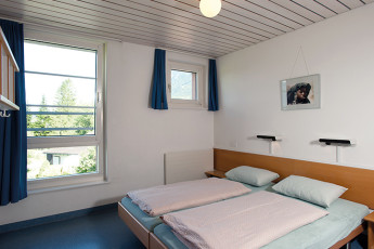 Schaan-Vaduz Youth Hostel : Twin Room in Schaan-Vaduz Hostel, Liechtenstein
