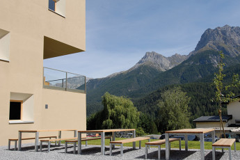 Scuol Youth Hostel : hostal residencia habitación Scuol
