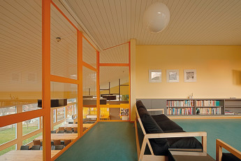 St. Gallen Youth Hostel : St Gallen in Switzerland children's playroom hostel
