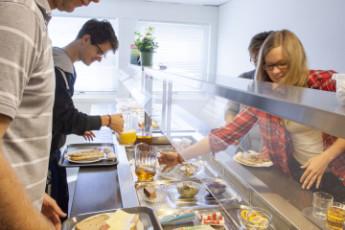 Førde : Dining room, breakfast, youth