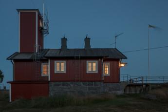 Nordmaling/Lotshuset : Front view of Lotshuset