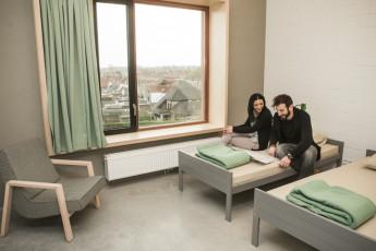 Kortrijk – Groeninghe : Groeninghe hostel kortrijk twin
