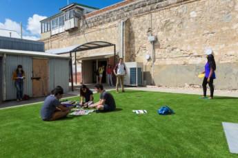 Fremantle Prison YHA : Outdoor Area