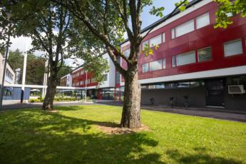 Turku - Hostel Linnasmäki : frontage