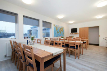 Keflavik Hostel : Keflavik Hostel. Breakfast area