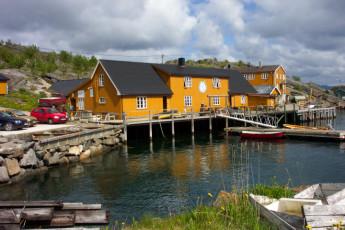 Stamsund - Lofoten Hostel : Stamsund, Hostel