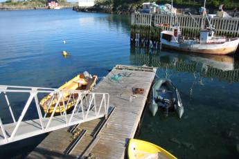 Stamsund - Lofoten Hostel : Harbour, Hostel, Stamsund